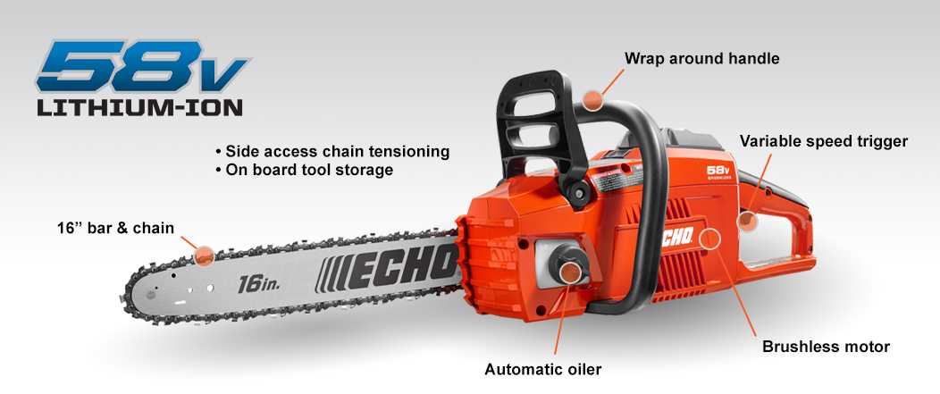 Echo CCS-58V chainsaw
